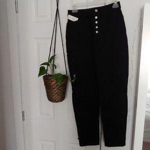 Aritzia high waist black pant new!
